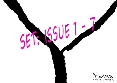 YEARS 1-7 set - Jan, Feb, Mar, Apr, May, June & July issue