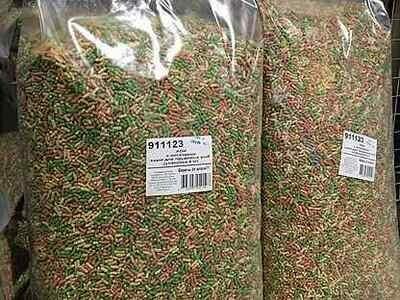 Корм для прудовых рыб Dajana Pond Extra Bits 40L (Чехия)