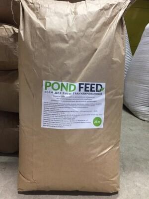 Корм POND FEED (для карпа, карася, сазана) 25кг
