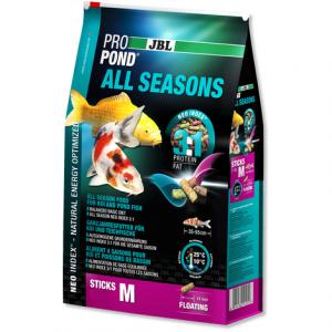 Корм для прудовых рыб JBL ProPond All Seasons M (5,8кг) 32 литра
