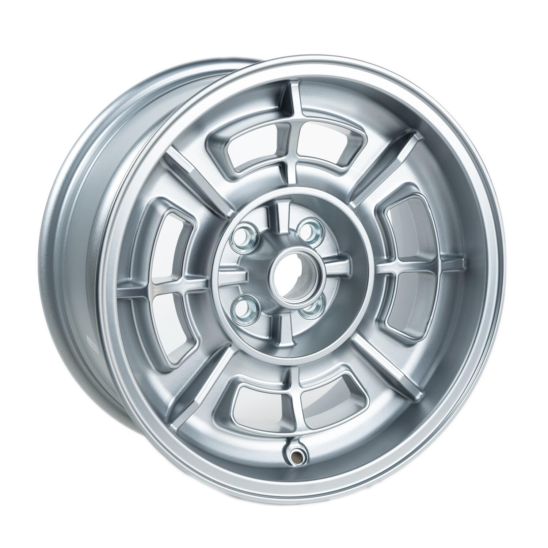 JS1570 Cromodora style 15x7 Satin Silver ET0