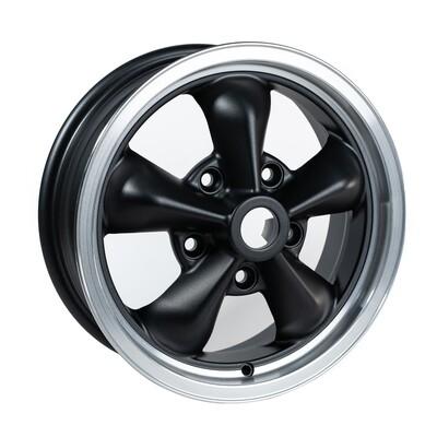 TT1555 Grey/Black/Cut Dish 15 x 5.5