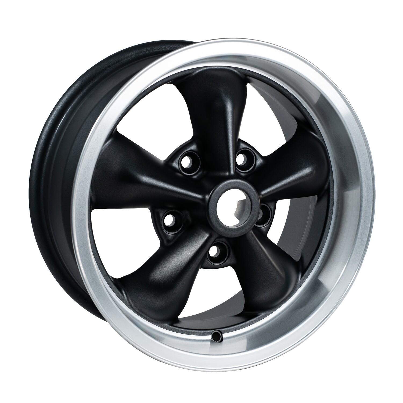 TT1570/23  Grey/Black/Cut Dish 15 x 7
