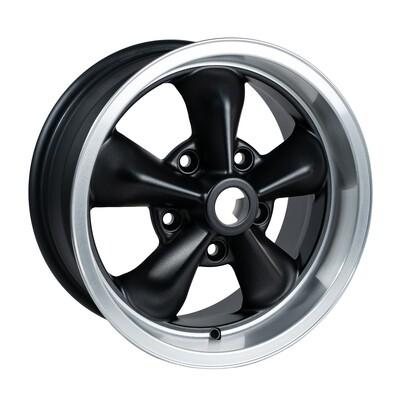 TT1570/32  Grey/Black/Cut Dish 15 x 7