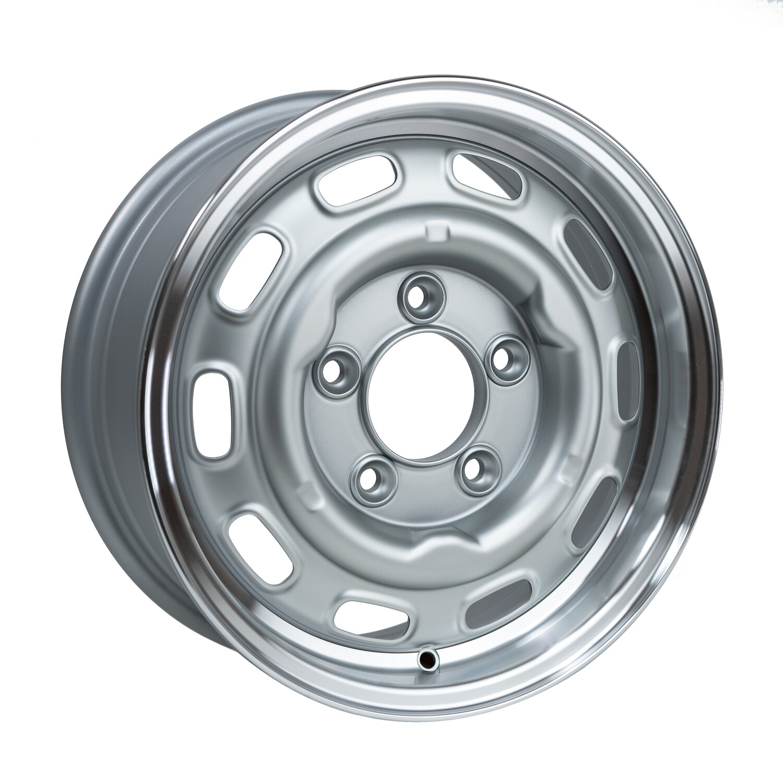 LMZ1560 Satin Silver Cut Dish 15 x 6