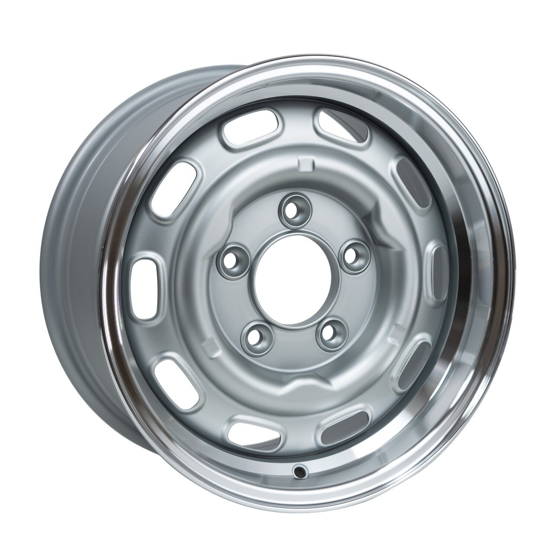 LMZ1570/23 Satin Silver Cut Dish 15 x 7