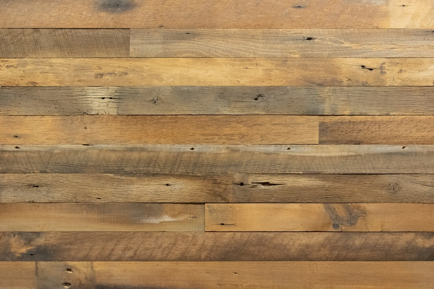 Reclaimed Weathered Brown Barn Wood Planks | 20 Sq Ft - Georgia Reclaimed