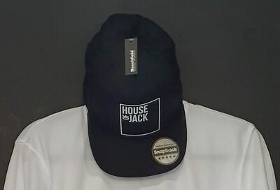 Black branded snapback