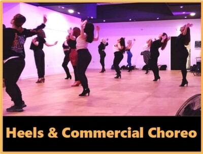 Pink Acid Commercial Choreo ONLINE:  Wed 28th October