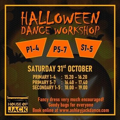 Halloween Dance Workshop: S1-5