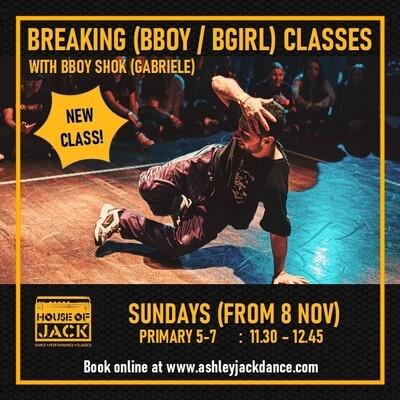 Breaking (Bboy / Bgirl) P5-7