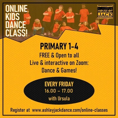 Primary 1-4 Class with Ursula: Fridays 4-5 pm