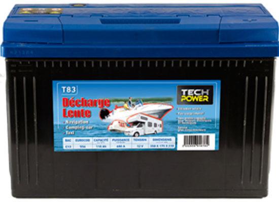 Batterie décharge lente 80 A