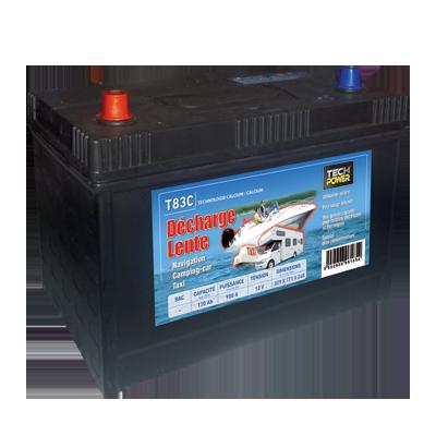 Batterie décharge lente 120 A