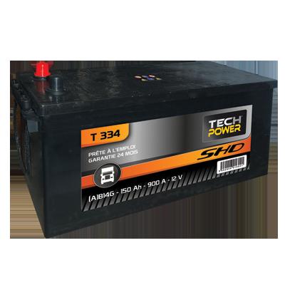 Batterie décharge lente 140 A AGM