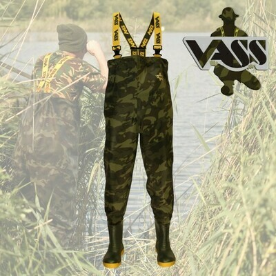 Waders Vass-Tex 800 Camouflage