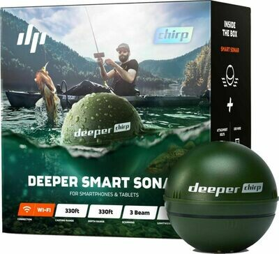 Deeper sondeur CHIRP+