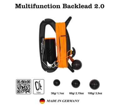 Backlead multifonction 2.0 60/100 g poseidon