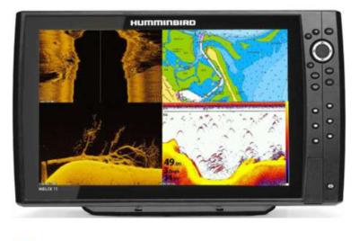 Echosondeur Humminbird Helix 15 G4N CHIRP MEGA SI+ / + Sonde