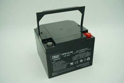 Batterie GEL sondeur 12 V - 28 A