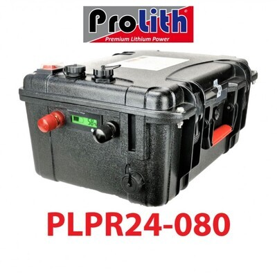 Batterie Prolith PLPR 24V 80A
