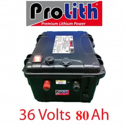 Batterie Prolith PLPR 36V 80A