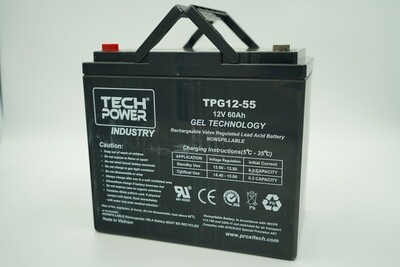 Batterie GEL  12 V - 60 A