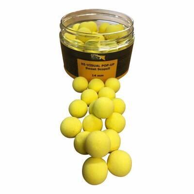 Pop-up sweet ScopeX (jaune) MTC Baits 14 mm