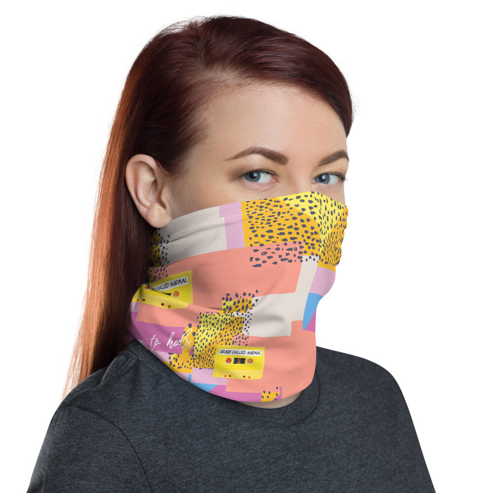 Crazy Called Normal-Leopard Mask