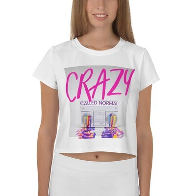 Crazy Called Normal - Crop Top