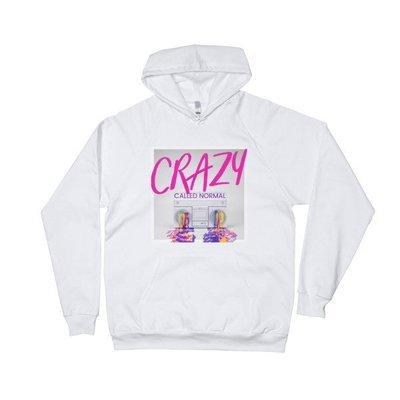 Crazy Called Normal-Unisex Fleece Hoodie