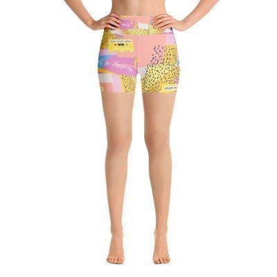 Crazy Called Normal-Yoga Shorts
