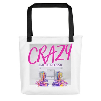 Crazy Called Normal-Tote bag