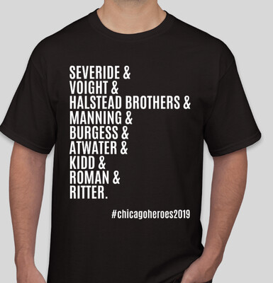 #ChicagoHeroes2019 Exclusive T-Shirt