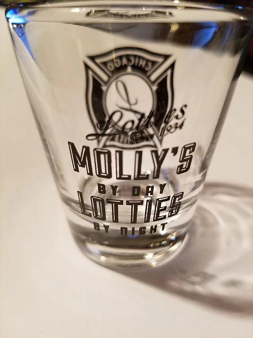 Molly's/Lottie's Shot Glass