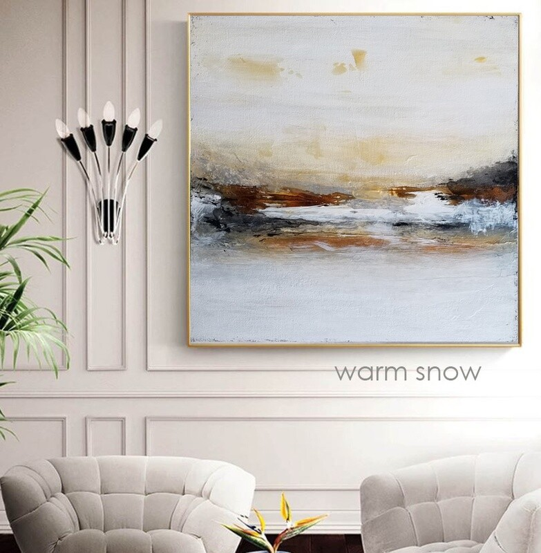 Contemporary Abstract Landscape Giclee Canvas Print