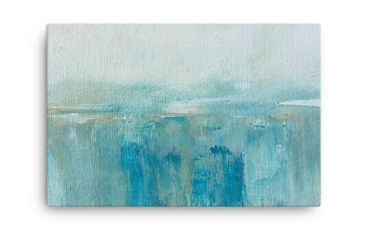 WATERFALL Abstract Art Print
