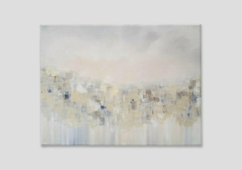 Large Neutral Wall Art Canvas Print - Sofa Wall - Bedroom - Calming