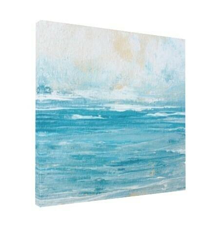 SOFT SUNRISE Water Art Print