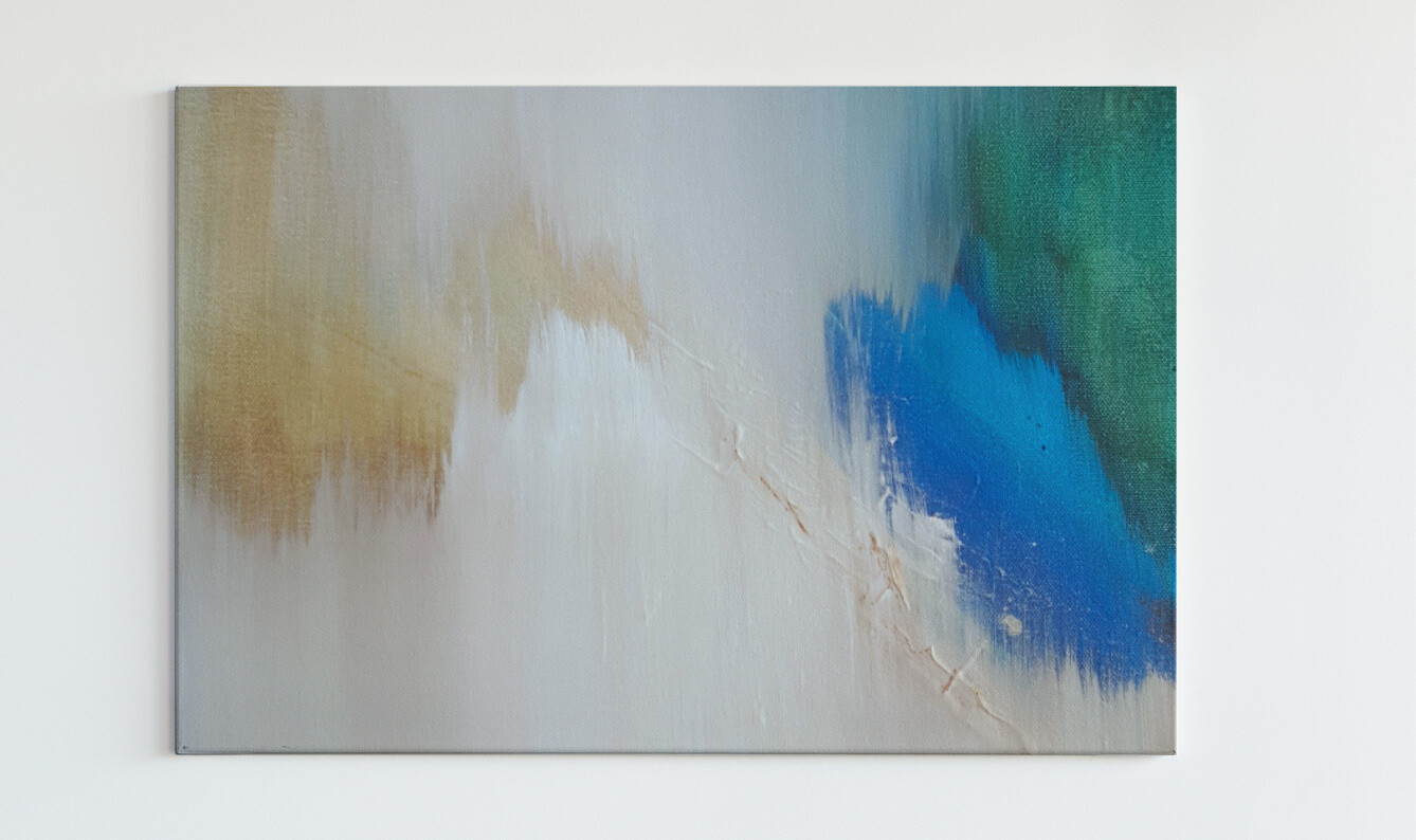 Abstract Wall Art Prints - Ready to Hang Canvas Giclee