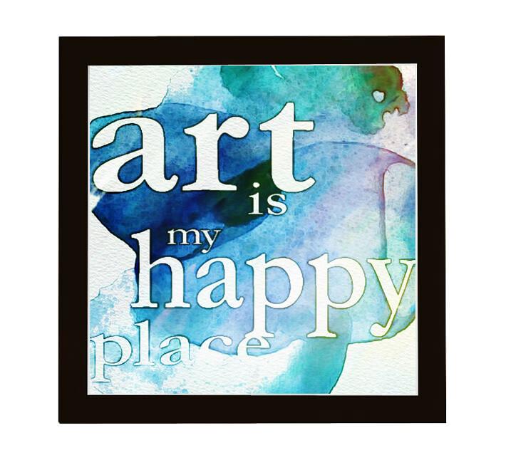 Art Typography Watercolor Wall Art Prints