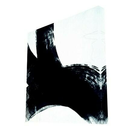 Black White Bold Strokes Original Art Print