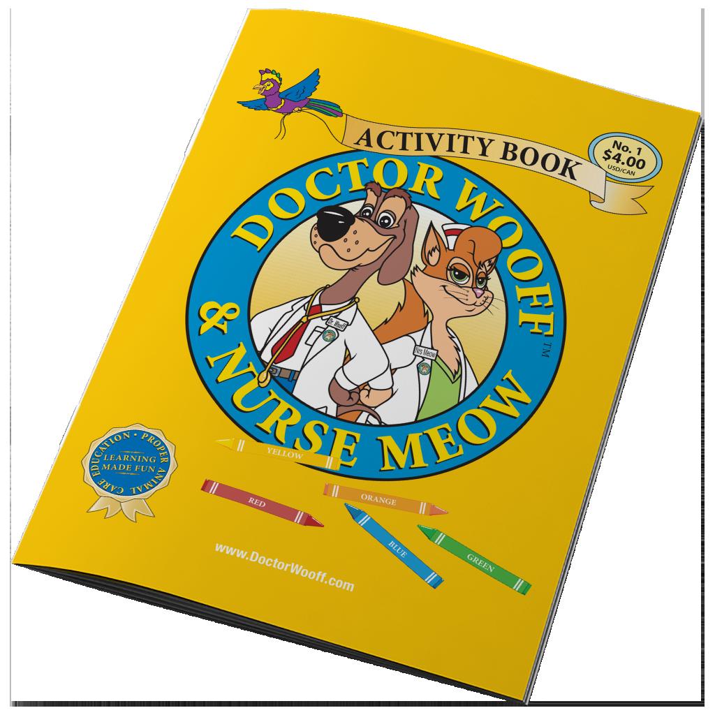 DOCTOR WOOFF ACTIVITY BOOK