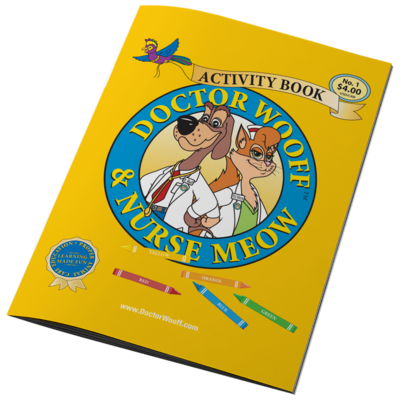 DOCTOR WOOFF ACTIVITY BOOK