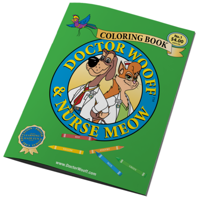 DOCTOR WOOFF COLORING BOOK