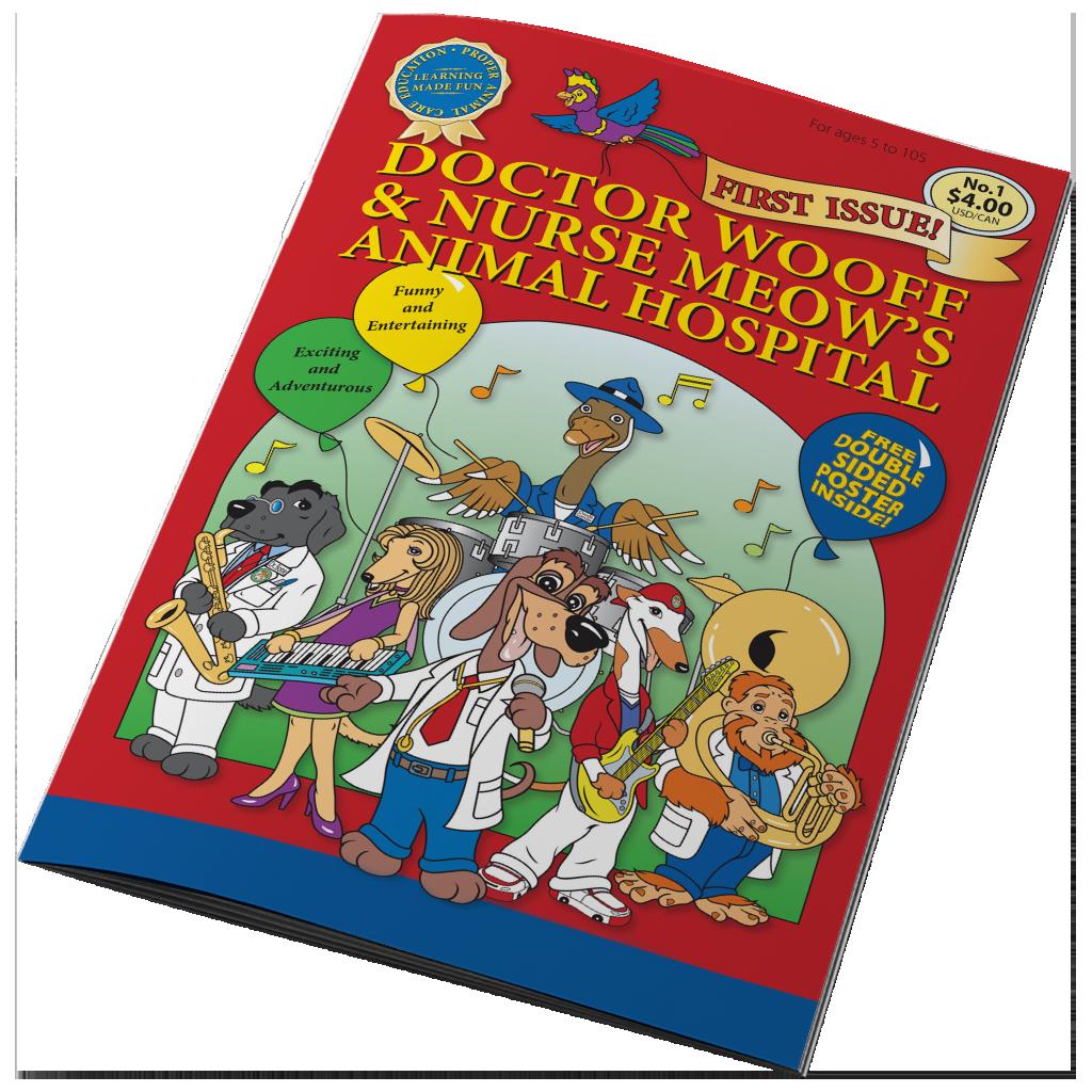 DOCTOR WOOFF COMIC BOOK
