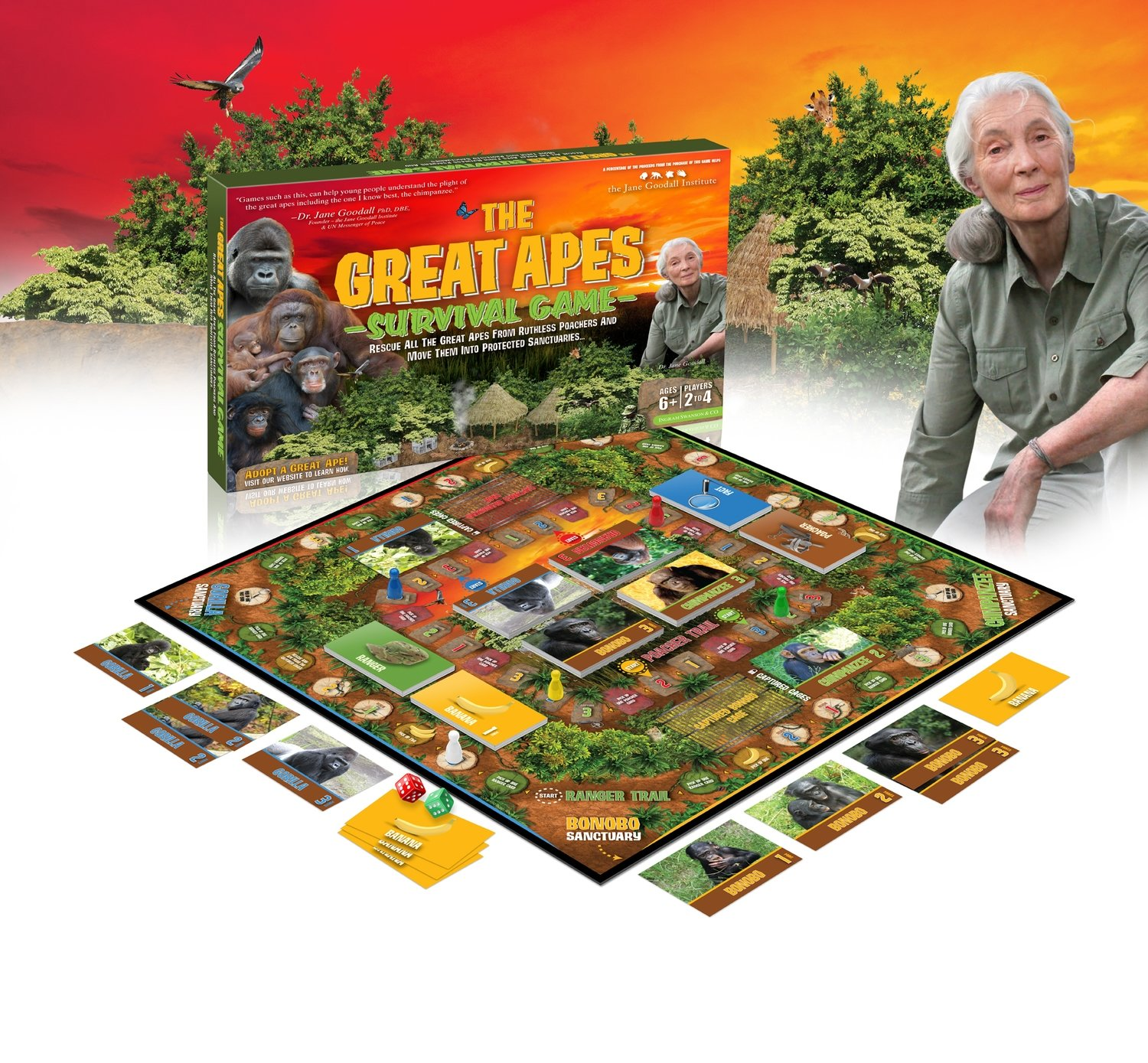 Great Apes Survival Game