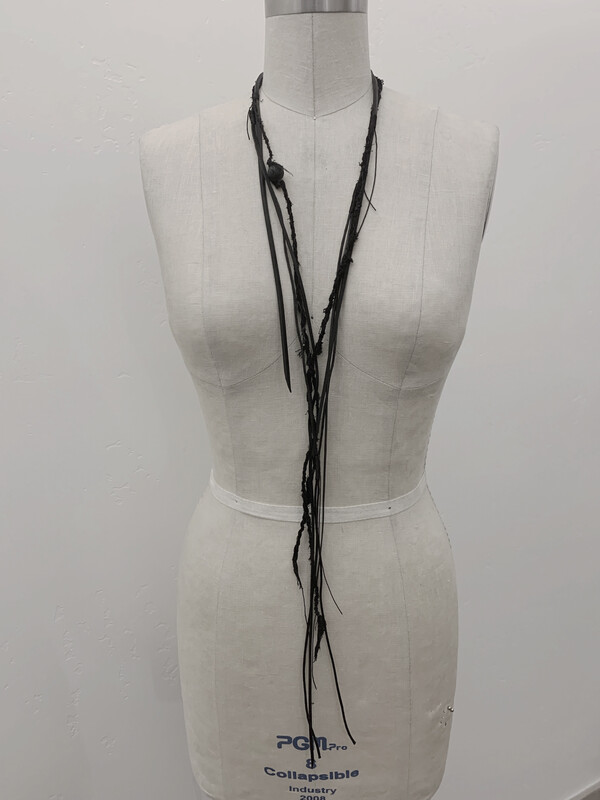 Black Fringe - Necklace