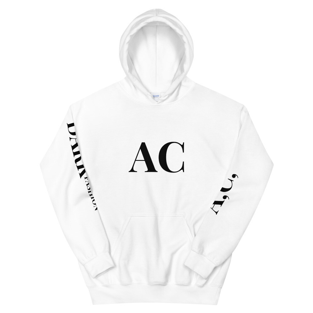Ammunition Couture Hooded Sweatshirt BLANC