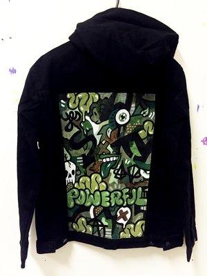 Camo Painted Jacket